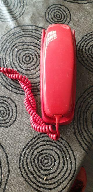 TELEFONO DE GONDOLA ROJO