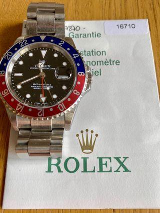 Rolex gmt pepsi