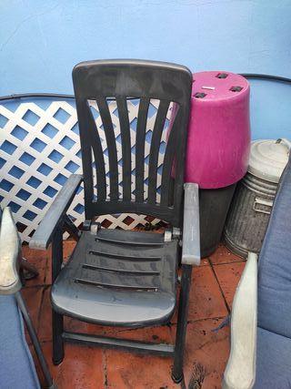 Hamaca/tumbona reclinable