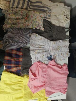 pack de ropa niña 5 y 6 años