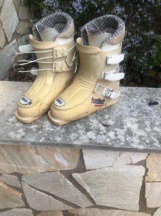 Botas de esquí!