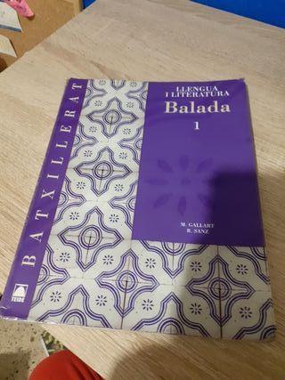 Libro Llengua i literatura catalana