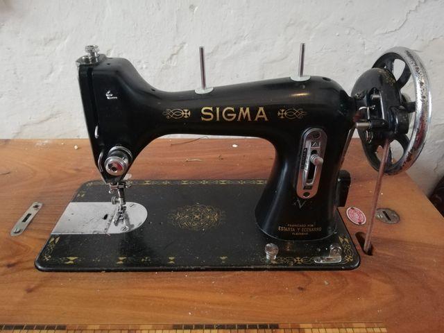 Se vende maquina de coser antigua SIGMA de segunda mano en