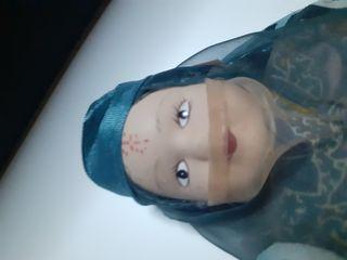 muñeca de porcelana articulada VINTAGE