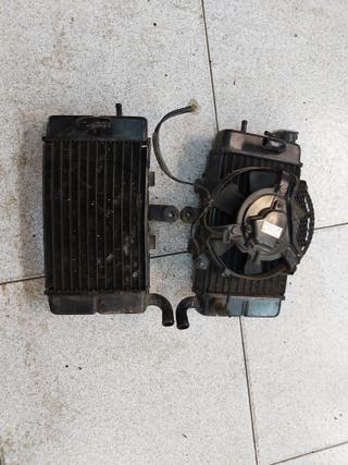 pareja de radiadores honda africa twin 750