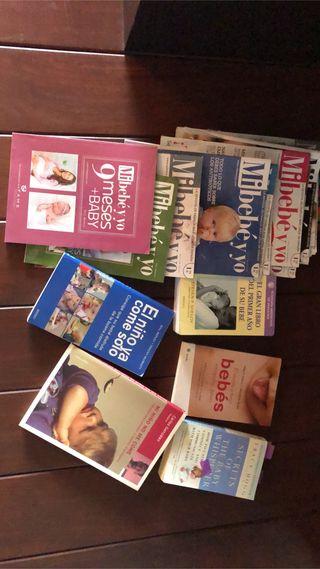 Revistas y libros bebé - gratis