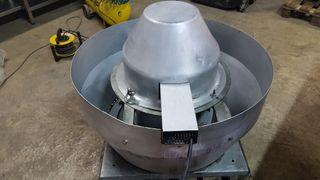 Extractor centrífugo de tejado Sodeca