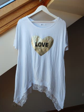 Camiseta Larga LOVE