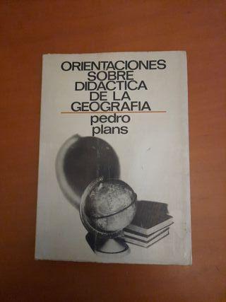 'Orientaciones sobre Didáctica de la Geografía'