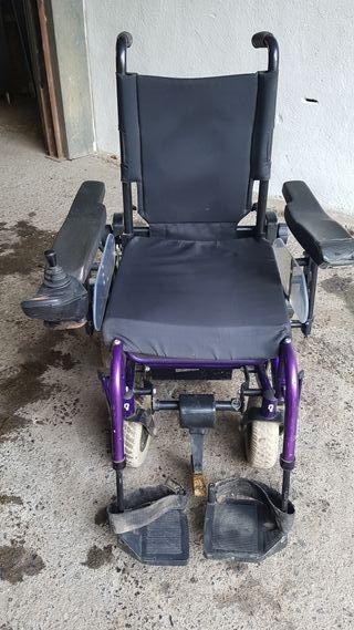 Silla de ruedas eléctrica Quickie Samba