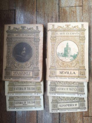 6 Libros de la Colección Arte en España 1930