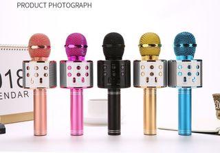 micrófono karaoke niños