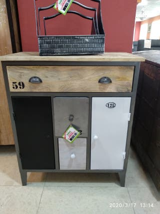 mueble auxiliar moderno vintage