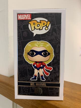 figura Funko Pop Ms. Marvel capitana marvel 527