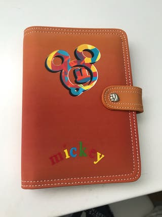Agenda Personal Mickey Mouse