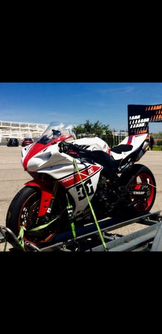 Yamaha R1 2012 CROSSPLANE CIRCUITO