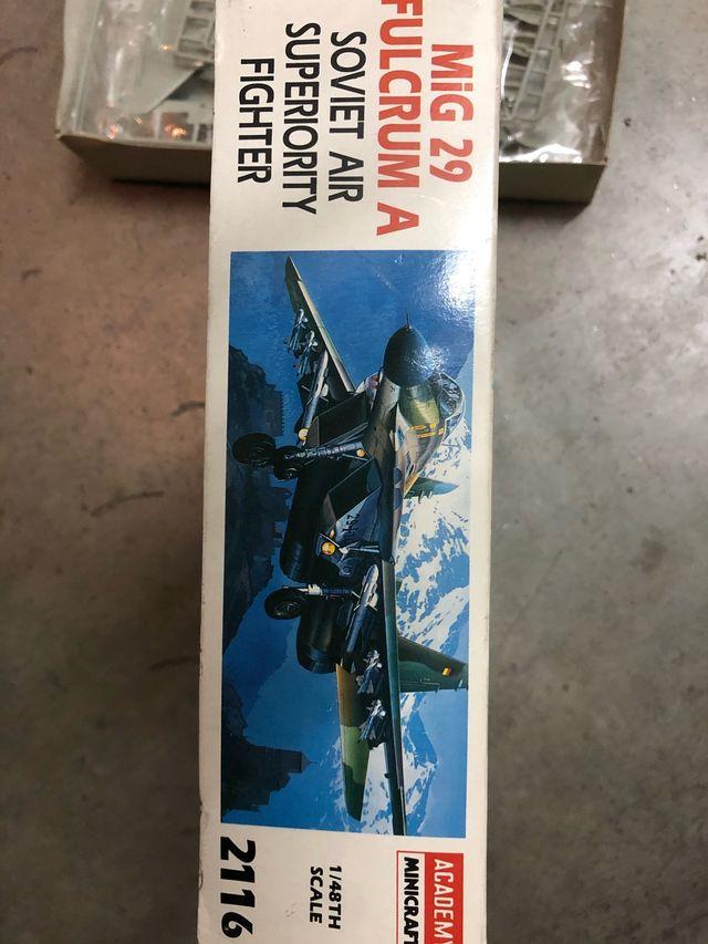 Maqueta Mig-29 Fullcrum