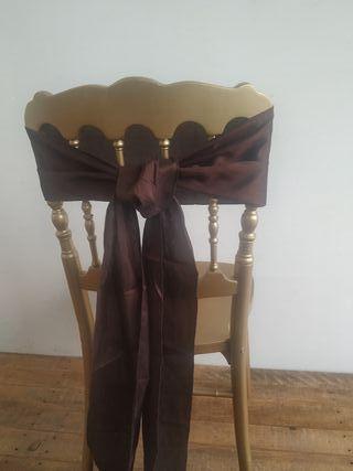 Lazos para sillas eventos