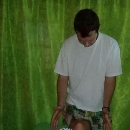 Energetic healing massage