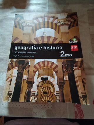 libros de geografía e historia de 2 eso sm