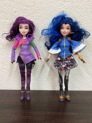 Muñecas Los Descendientes.