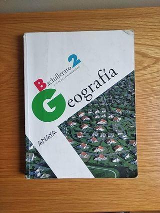 Libro Geografía 2° Bachillerato
