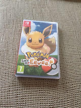 Juego Nintendo Switch let's go Eevee