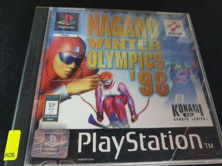 JUEGO PS ONE NAGANO WINTER OLYMPICS 98! GARANTIA!