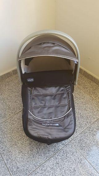 cuna de bebé para coche, viaje y casa