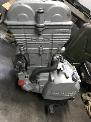Motor rotax 650