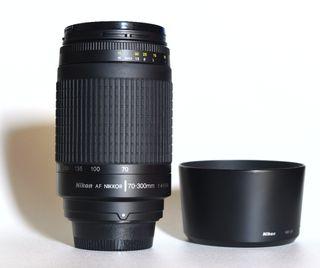 Objetivo Réflex Nikon Nikkor 70-300 4-5.6 G