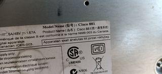 Router Cisco 881