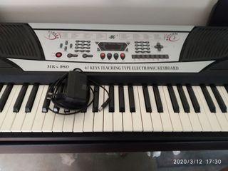 PIANO ELECTRÓNICO PORTÁTIL TECLADO 61 LE