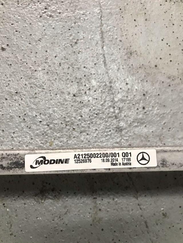Radiador Mercedes E350 w212