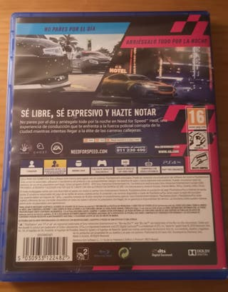 Need For Speed Heat PS4 con seguro
