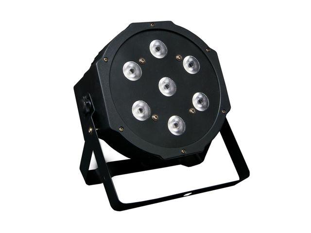 PROYECTOR ILUMINACION 7 x LED RGBW 4W. DMX
