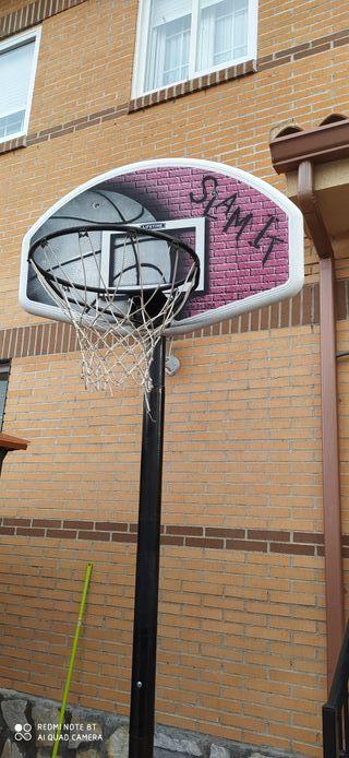 se vende canasta de baloncesto