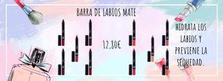 BARRA DE LABIOS MATE