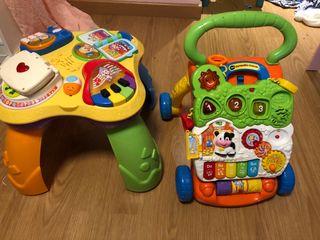 Corre pasillos mesa de actividades bebe