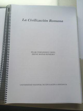 Libro Civilización Romana UNED