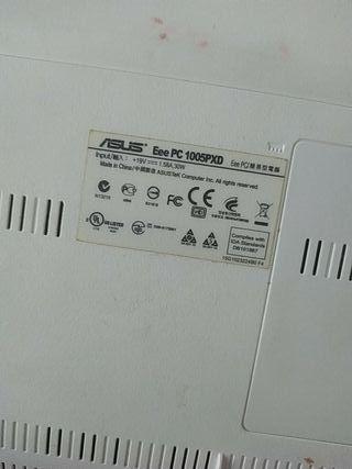 Portatil Asus Netbook Blanco Ee Pc