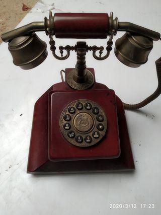 telefono madera