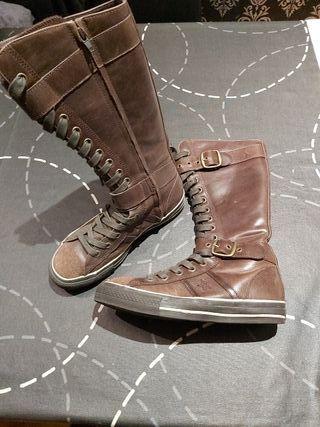 Zapatillas botas converse