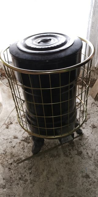 Estufa de Leña Antigua