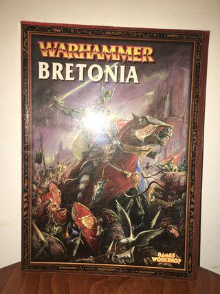 Libro ejércitos Warhammer Bretonia