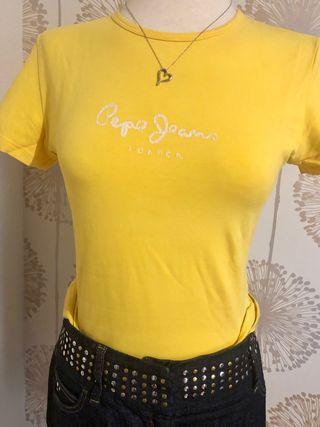 Camiseta amarilla Pepe Jeans