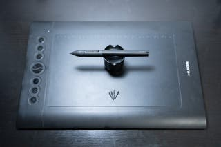 "Tableta gráfica Huion H610 Pro 12"""