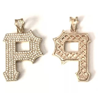 Wiz Khalifa Pittsburgh Yellow Gold Plated Pendant