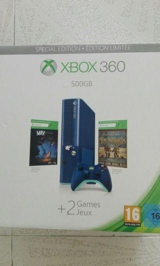 Xbox 360 Azul 500 gb special edition