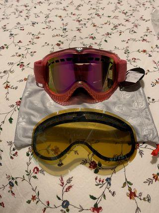 Máscara de snow ski dragon